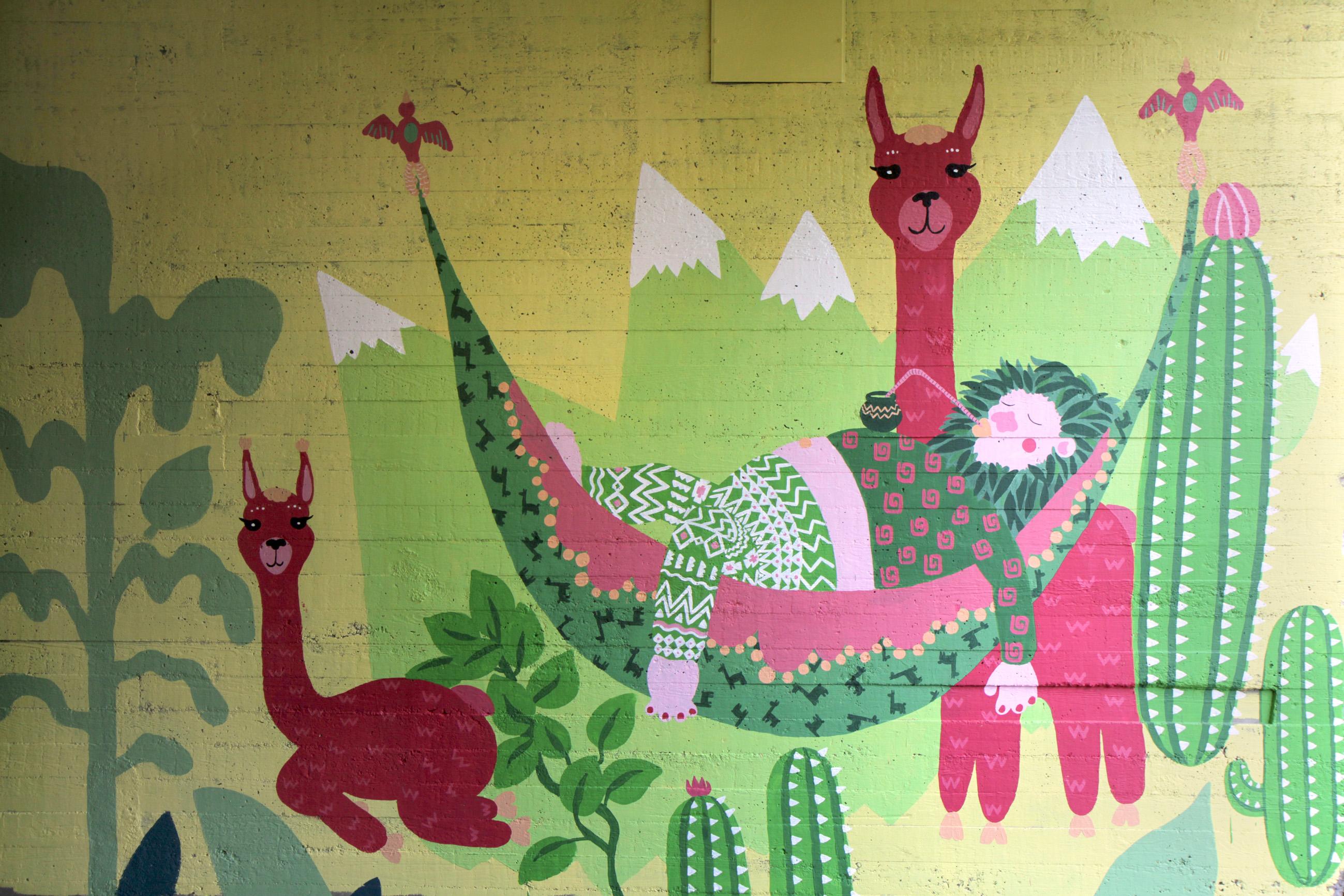 llazy llamas / 2016