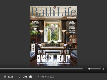 """Quarters Interiors Appears in Bath Life Issue 438: """"Meet the Interior Designer"""""""