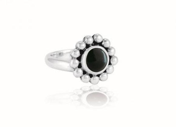 Pakilia Ring Obsidian