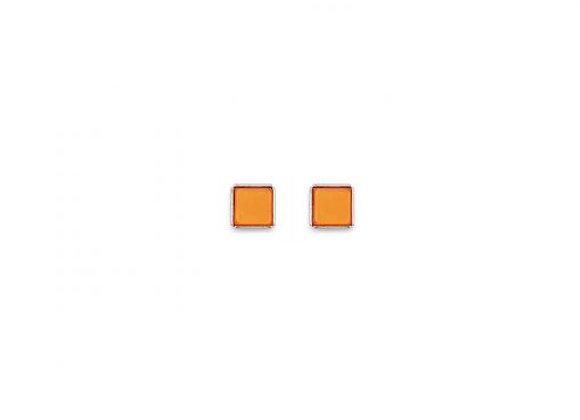 Coeur de Lion Ohrstecker orange