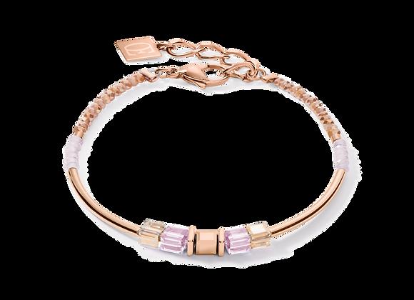 Coeur de Lion Armband Rosé - Flieder