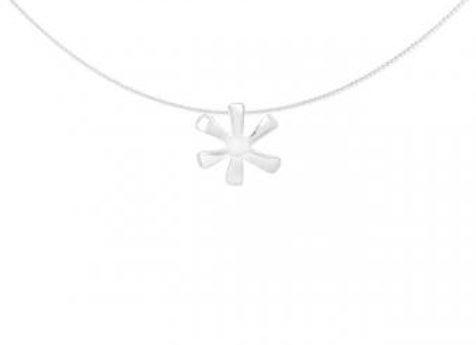 Pakilia Silber Kettenanhänger Flor lisa