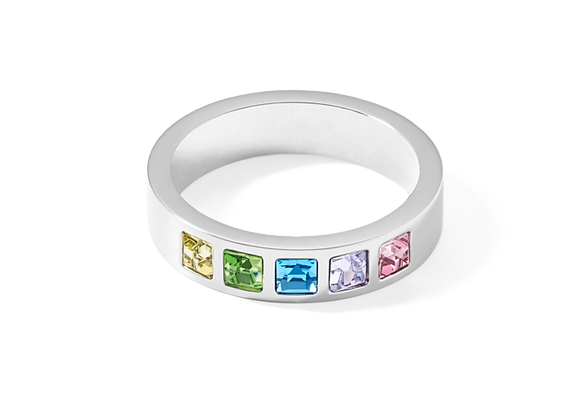 Coeur de Lion Ring multicolor pastell