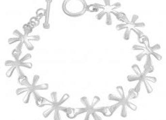 Pakilia Silber Armkette Flor lisa