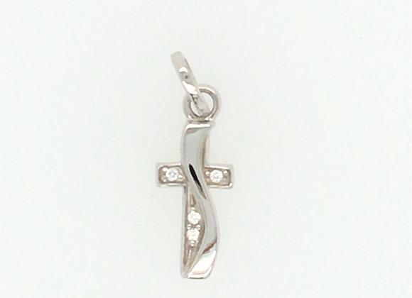 925 Silber Anhänger Kreuz