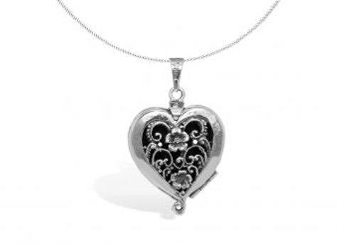 Pakilia Silber Anhänger Corazón especial