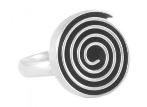"""Ring """"Laberinto espiral"""""""