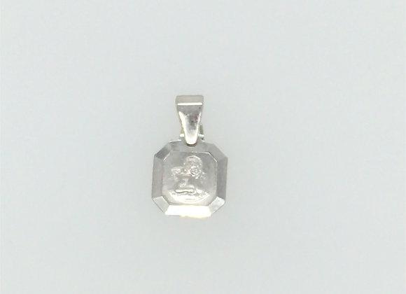 925 Silber Anhänger Schutzengerl