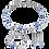 Thumbnail: Coeur de Lion Ohrstecker blau