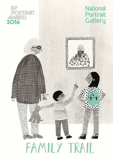 BP Portrait Award 2016 Family Trail