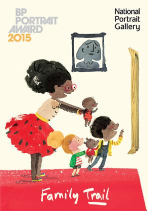 BP Portrait Award 2015 Family Trail