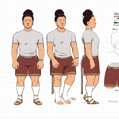 Jaylin Character Sheet