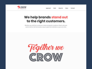 Crow launches new website