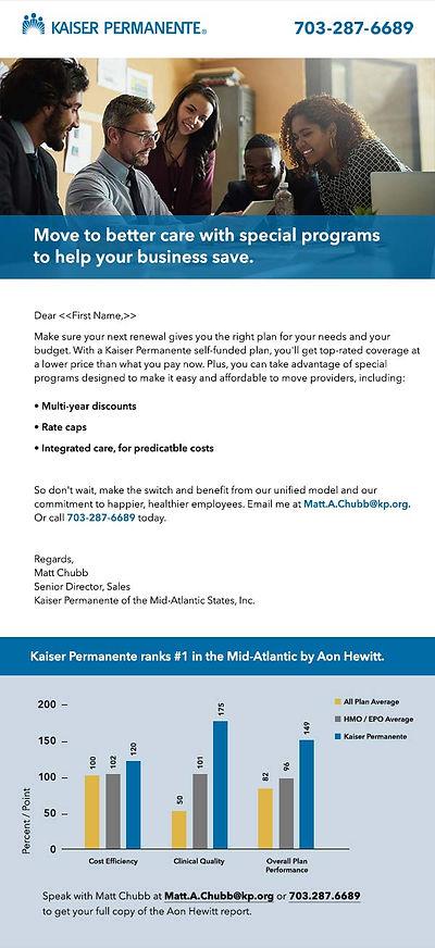 Kaiser Permanente email