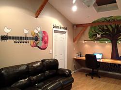 Woodstock & Tree Mural