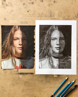 Maggie Rogers – Graphite on Paper