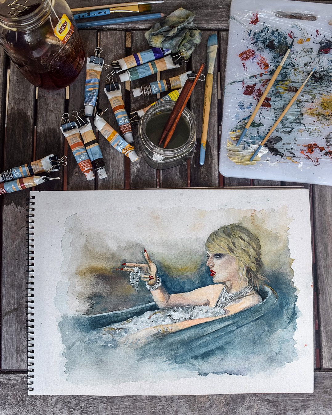 Taylor Swift (2018) - Watercolor