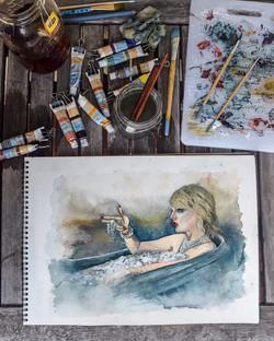Taylor Swift (2018) - Watercolor