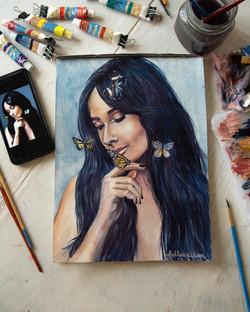 Kacey Musgraves - Watercolor