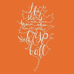 Crisp in the Fall