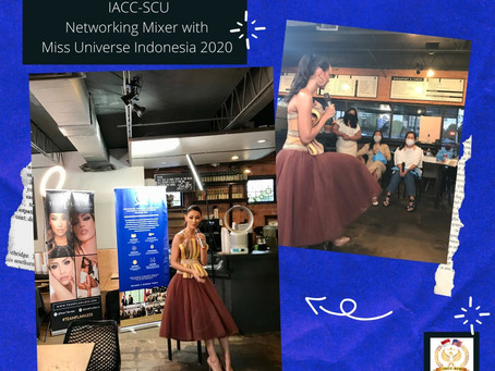 May 2nd, 2021 - Networking Mixer with Miss Universe Indonesia 2020