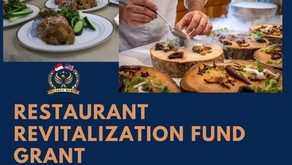 Restaurant Revitalization Fund Grant