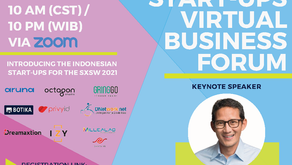 March 22nd, 2021 - Indonesia Start-Ups Virtual Business Forum