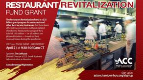 April 21st, 2021 - Understanding the Restaurant Revitalization Fund Grant