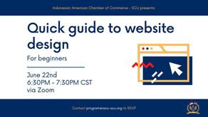 June 22nd, 2021 - Website Design Webinar