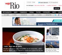 Veja Rio online home 03.09.13
