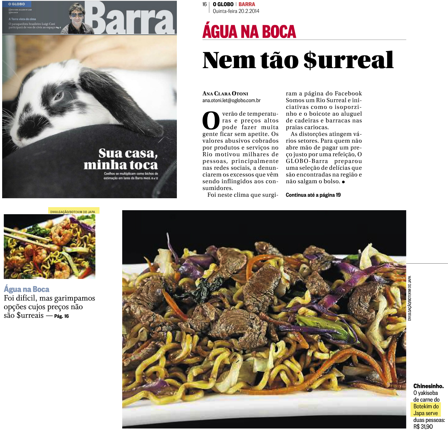 Globo Barra 20.02.14