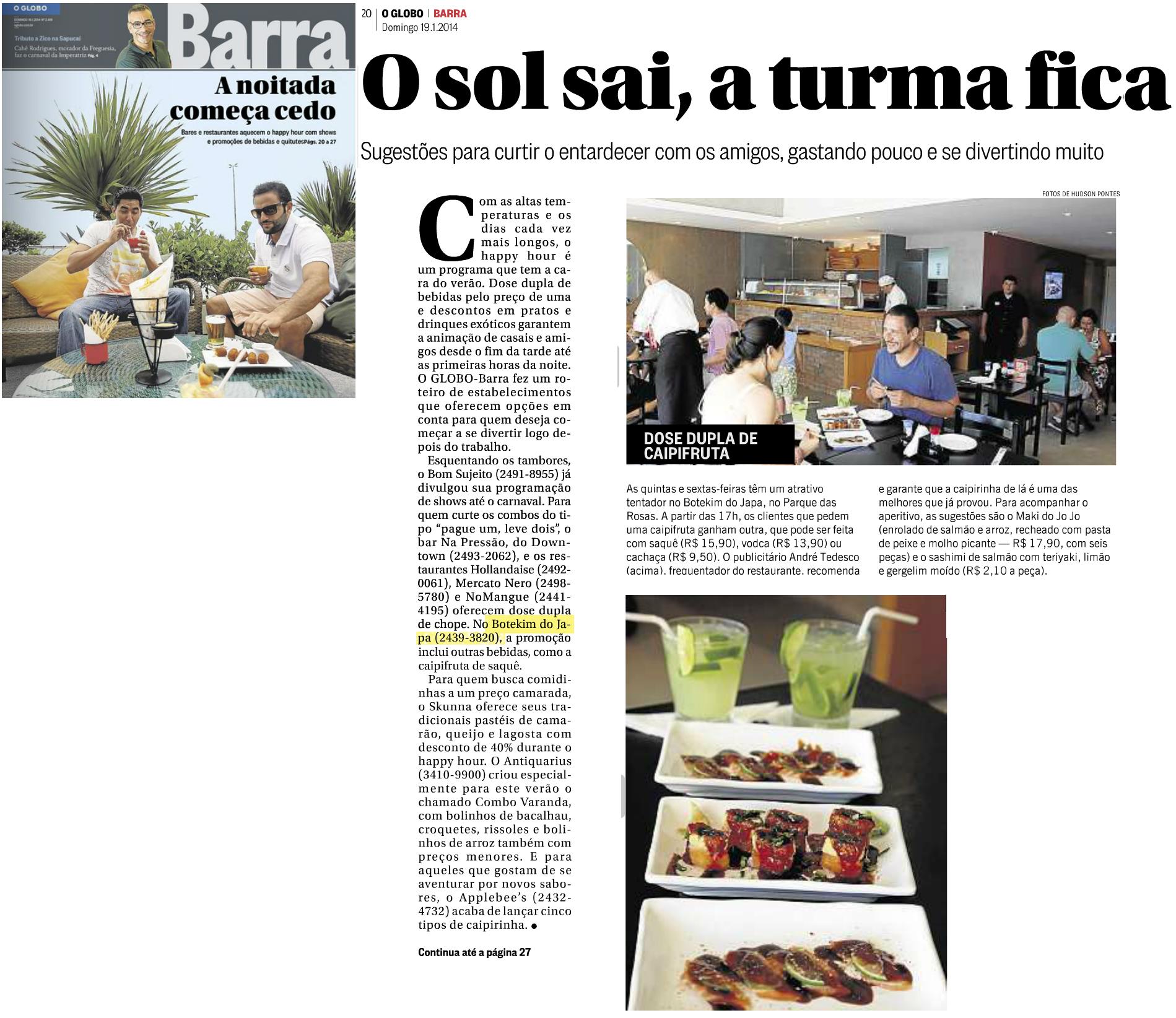 Globo Barra 19.01.14