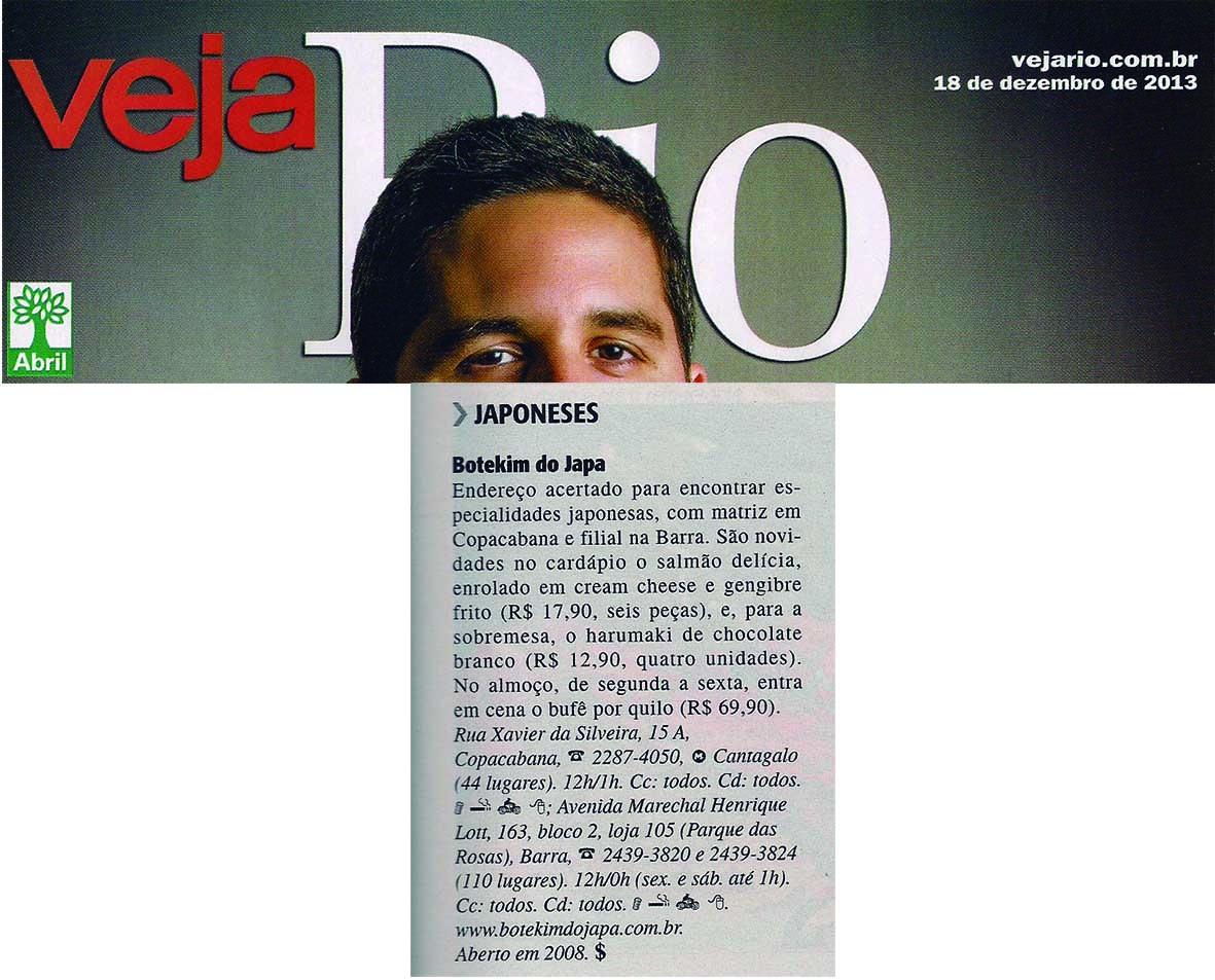 Veja Rio 18.12.13