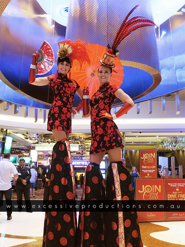 Blk & Red Dolls