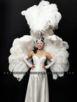 Masquerade White Showgirl
