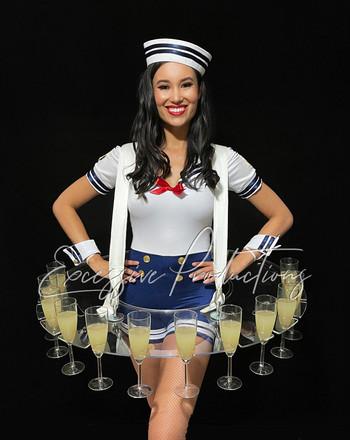 Sailor hostess Showgirl Living Table Rov