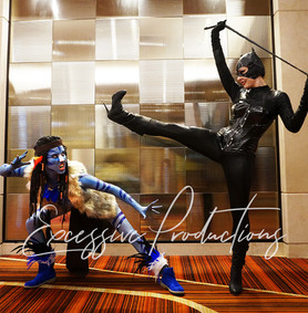 Avatar and Catwoman