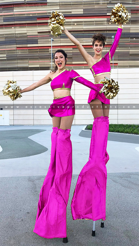 Pink & Gold Cheer