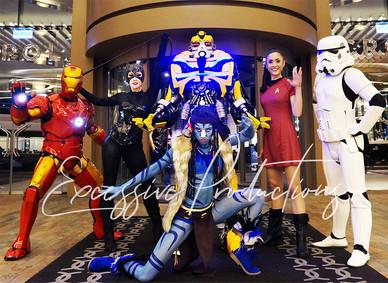 Superheroes group