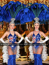 Aussie Flag Showgirl