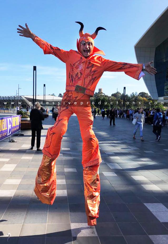 Orange Devil Elton