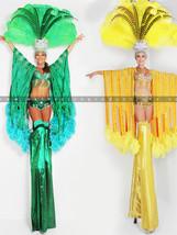 Aussie Green and Gold Showgirls