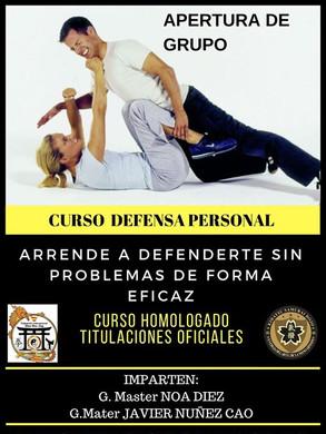 apertura de #curso #defensapersonal #noa
