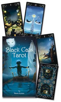 Black Cat Tarot - with guide