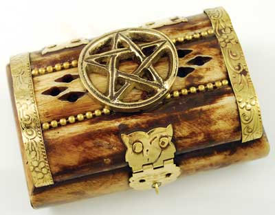 Pentagram Bone Chest