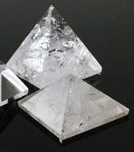 Clear Quartz Pyramid - Medium