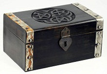 Hectate Triple Pentagram Ritual Chest