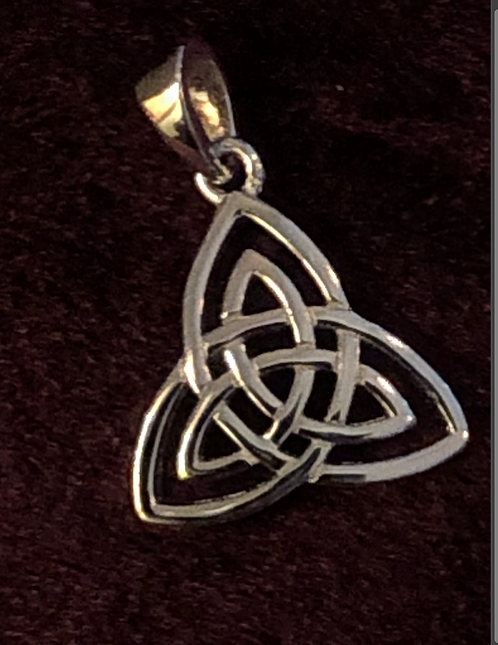 Sterling Silver Triquetra Charm