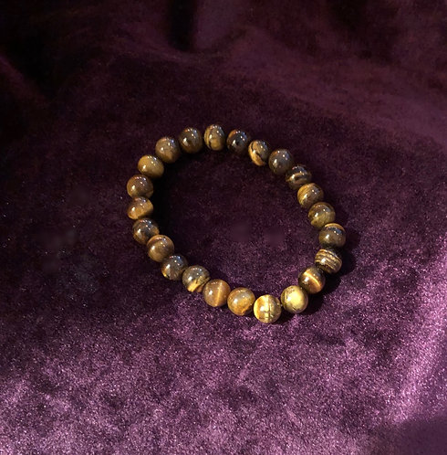 Gold Tiger's Eye Crystal bracelet