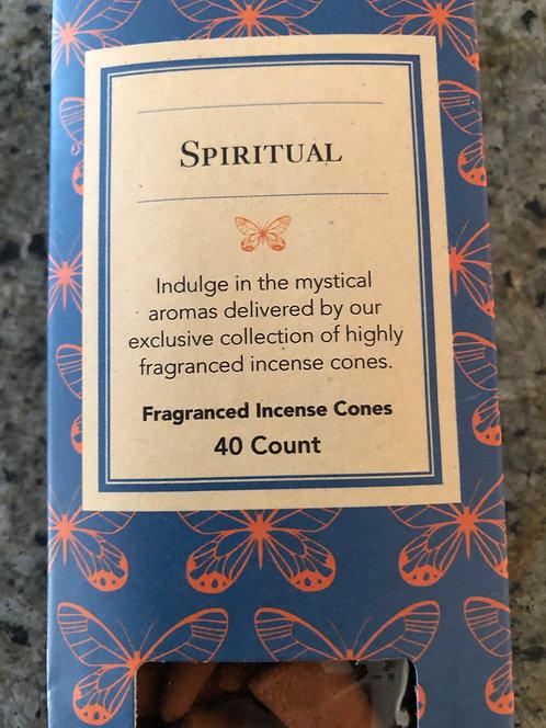 Spiritual incense cones